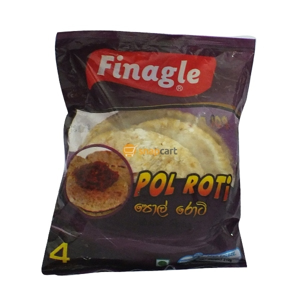 Frozen Pol (Coconut) Roti (350g) 4 Pcs / Pack [K26]