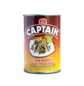CAPTAIN JACK MACKEREL CANNED FISH 475 G [ E1 ]