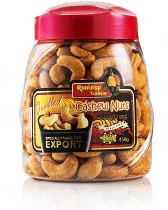 RANCRISP DEVIILED CASHEWS 160G