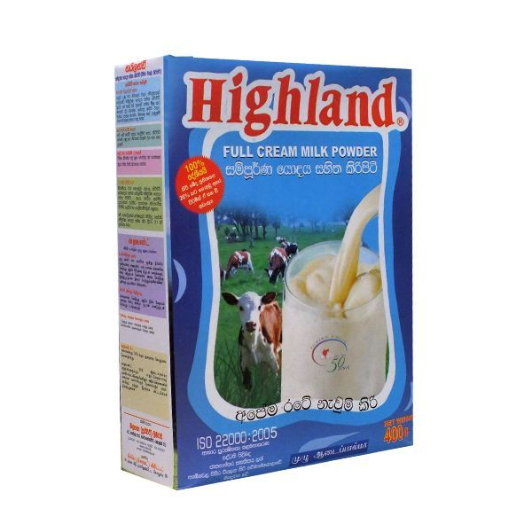 Highland Milk Powder 400g