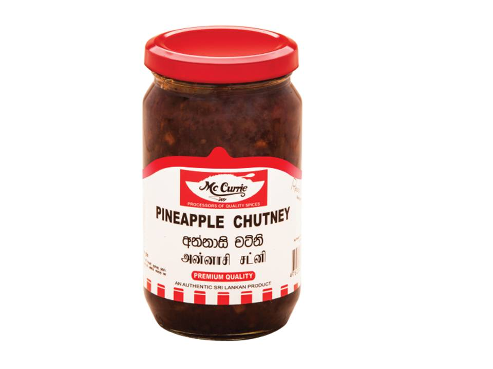 Pineapple Chutney - mc currie 450 g