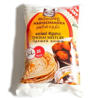 instant thosai mixture - harischandra 400 g [ d4 ]