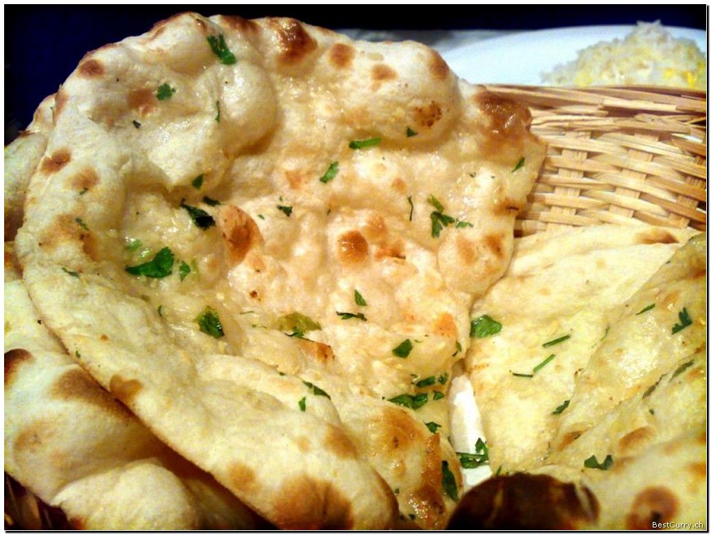 Frozen garlic Naan 10pcs (1kg)