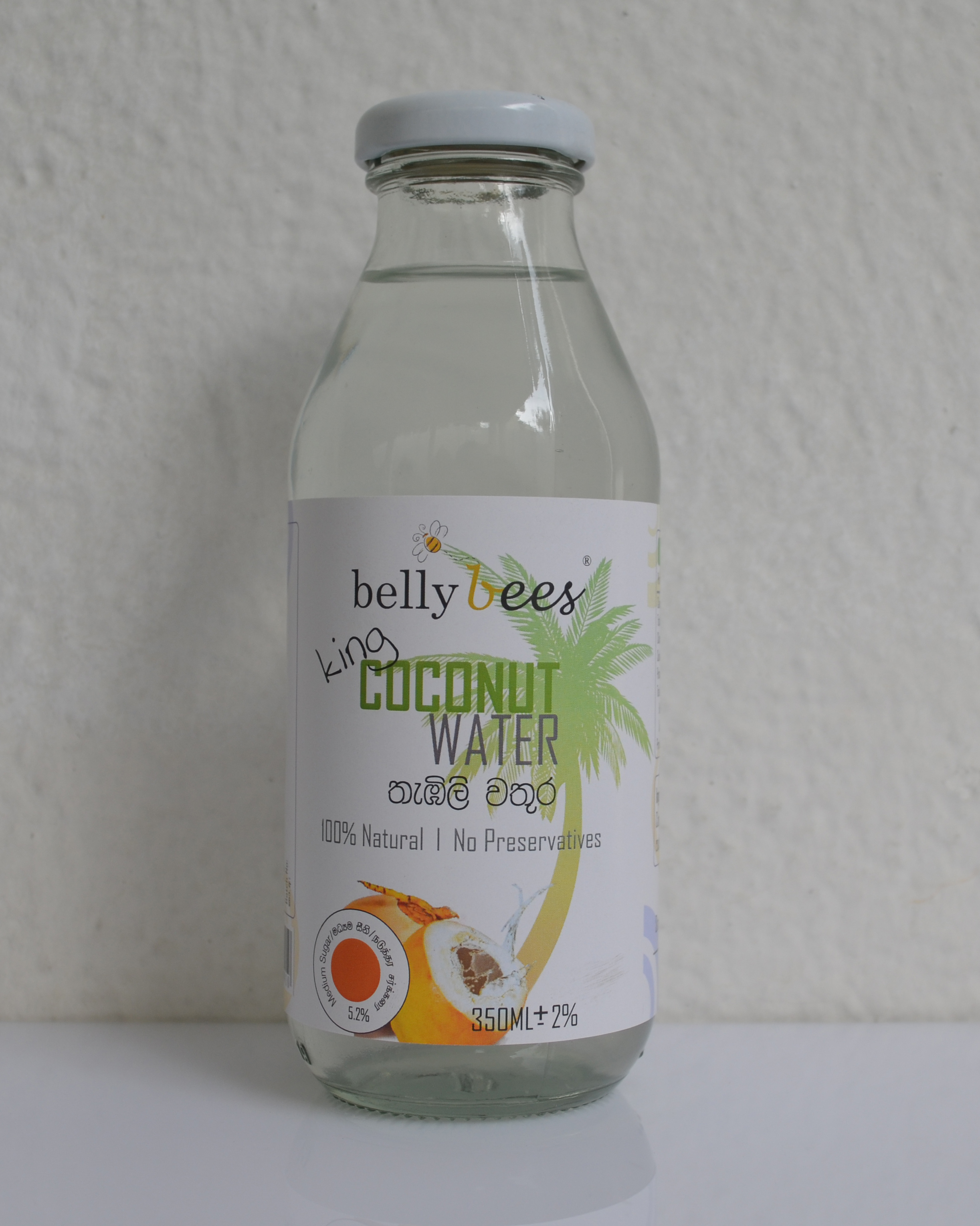 Belly Bees - (King) Coconut Water 350mL
