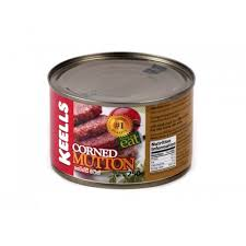 CANNED CORNED MUTTON 250 G [ E111 ]