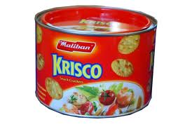 Krisco, Snack Crackers 215g [ F16 ]