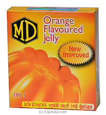 MD Jelly Crystal Orange 100g