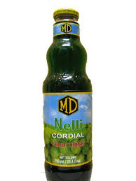Nelli (Amla Fruits / Gooseberry) Cordial - 750 ml [ H5 ]