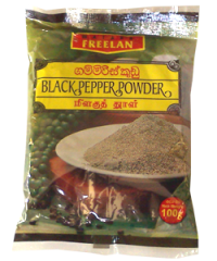 Black-Pepper (Coarsely-Ground) 黑胡椒 [ B5 ] 100g