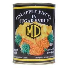 MD Pineapple pieces in syrup 560g