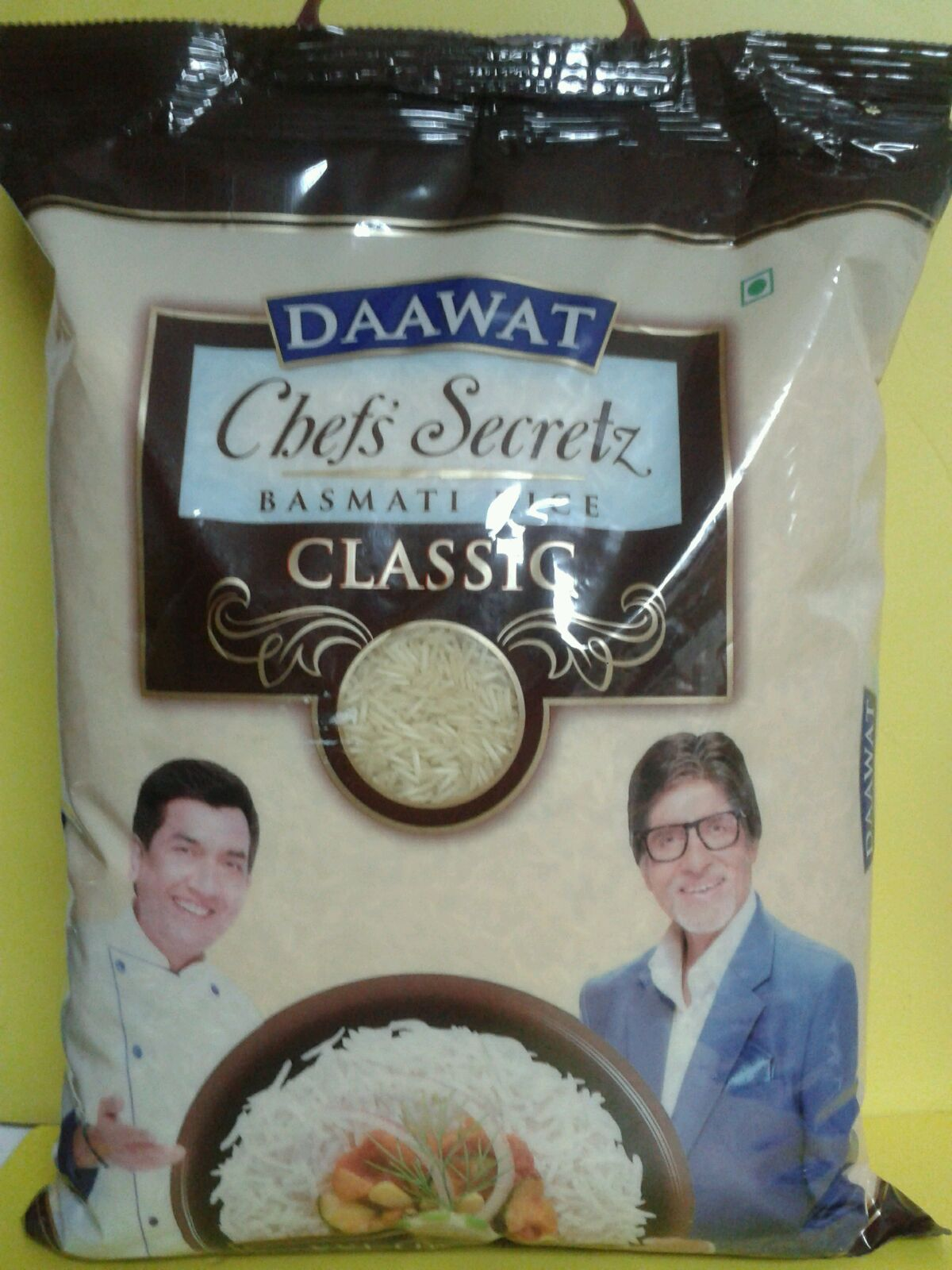 BASMATI RICE, DAAWAT CHEF'S SECRET CLASSIC - 5KG [ A17 ]