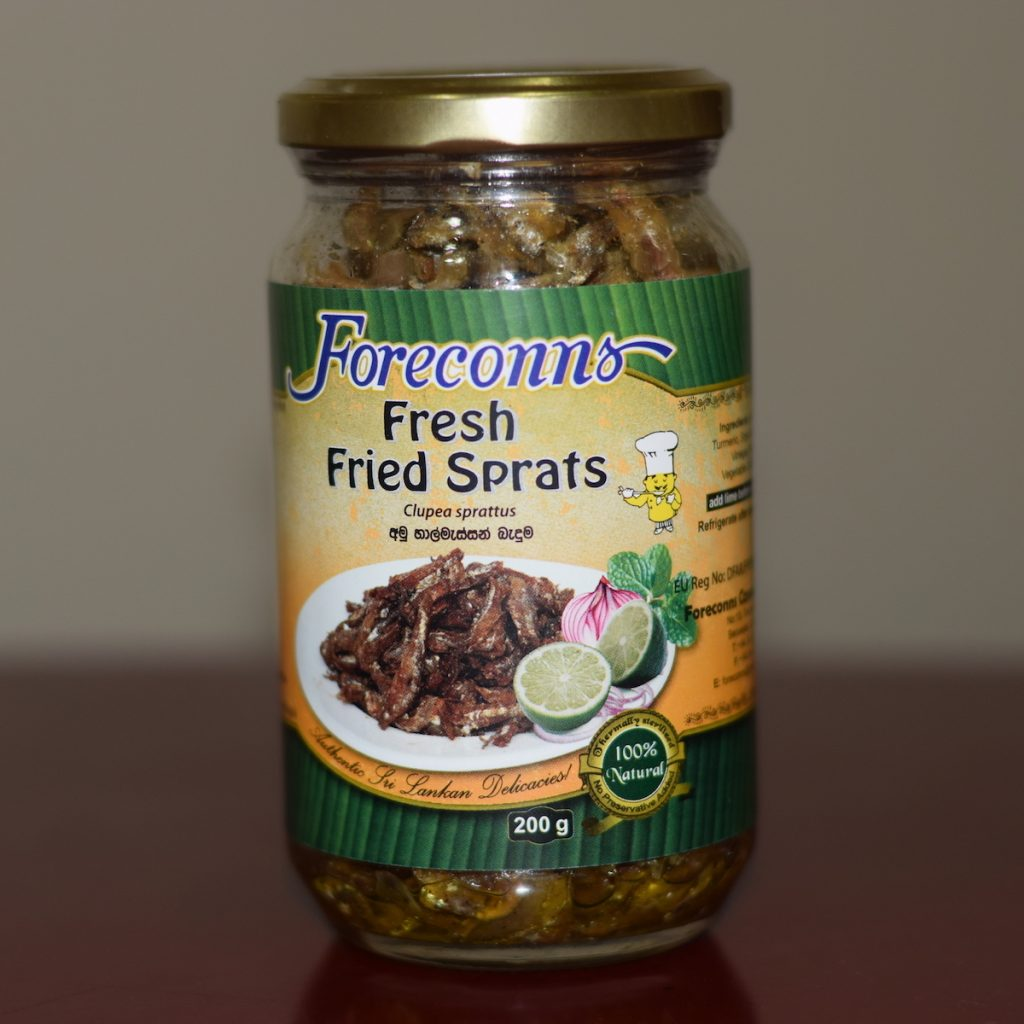 Fresh Fried Sprats- Foreconns 200g
