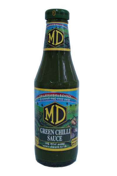 MD GREEN CHILI SAUCE 400 G [ E71 ]