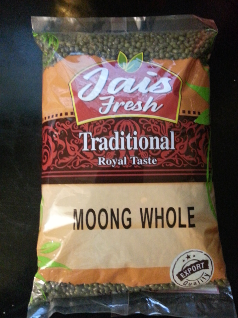 Moong Whole - 1kg