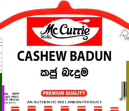 "FRIED CASHEW ""KAJU BADUN"" - mc currie"