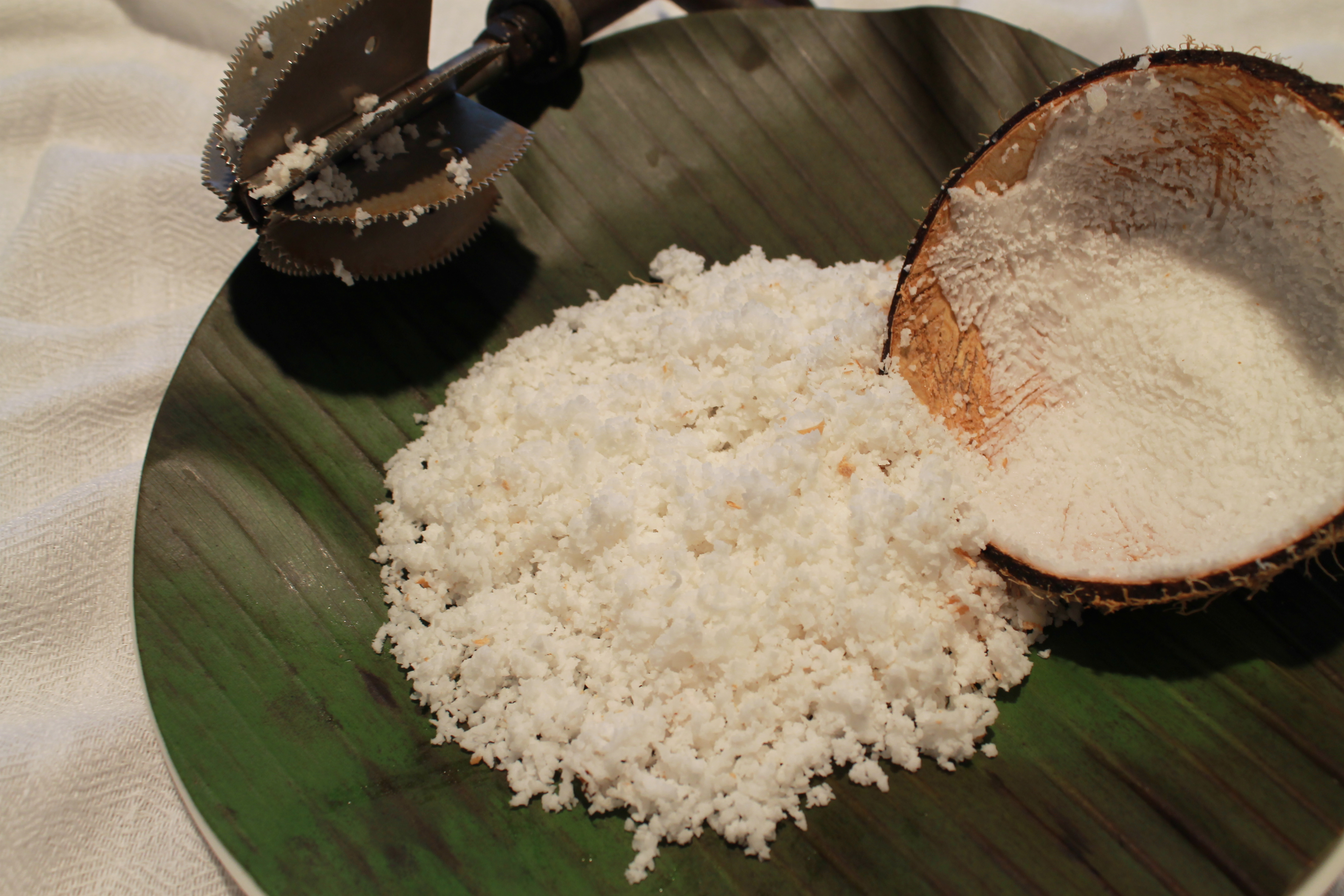 Grated Fresh Coconut - Frozen 300g [ J1 ]