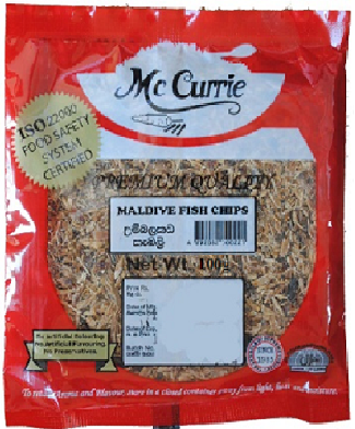 Maldive Fish Chips 50g - Mc Currie [ C1 ]
