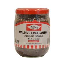 maldive fish sambol - mc currie